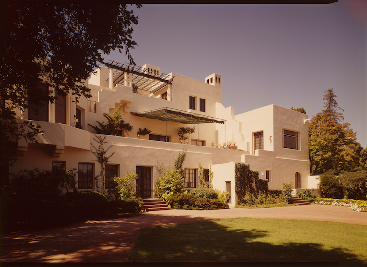 Lou Henry Hoover House at Stanford via  Wikimedia Commons