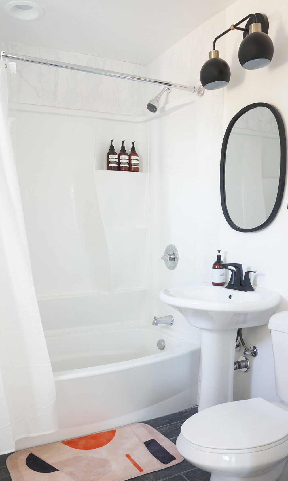 How To Install A Bathroom Light Fixture, Young House Love Bathroom