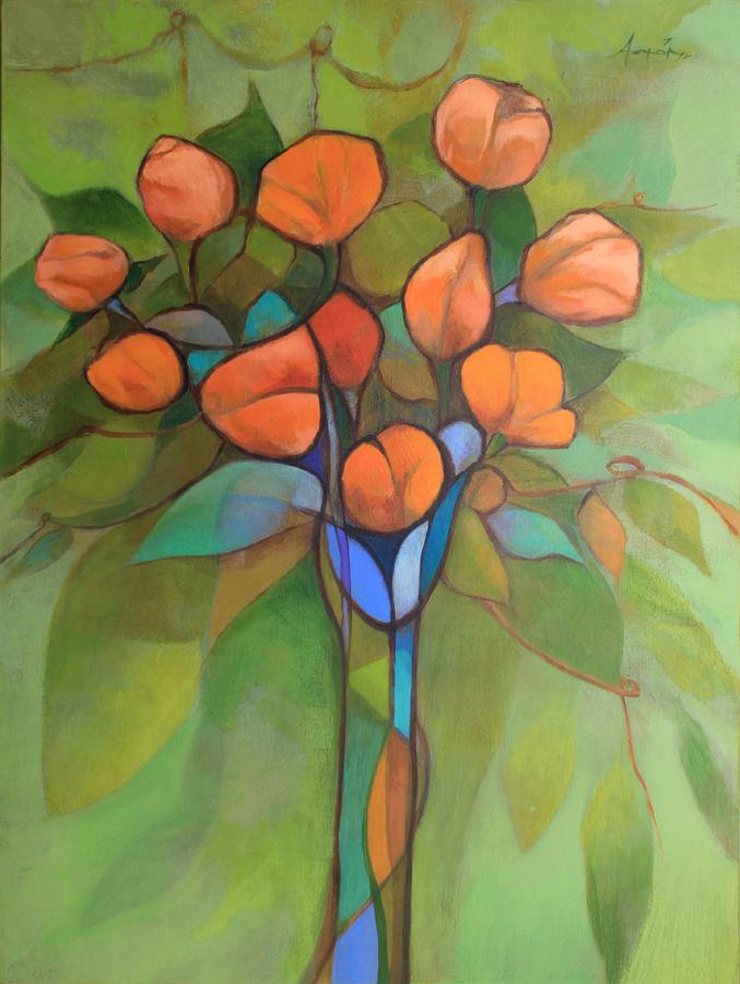 Bouquet - Acrylic on Canvas, 2012