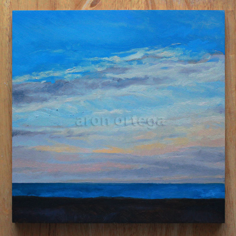 Seascape VII, Oil on Panel, 8 x 8 in. 2011