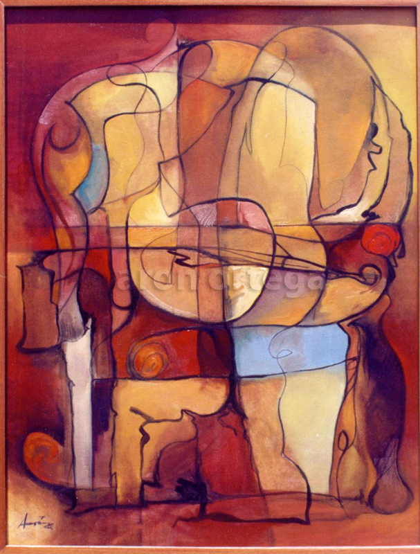Interior, Oil on Canvas, 2002