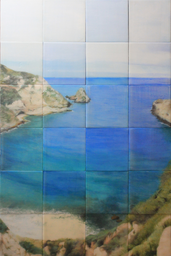 Marine Layer - Contemplation, Acrylic on Board, 36 x 24 in. 2012