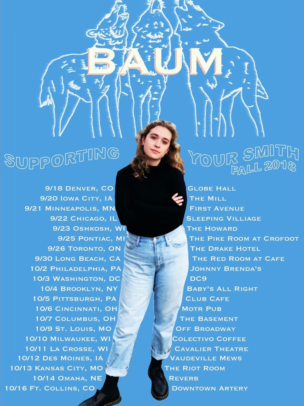 With Baum, support for Your Smith