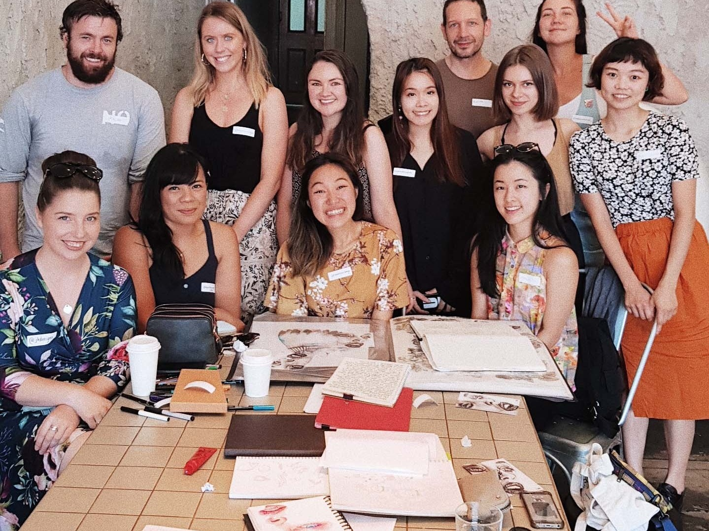 Open Sketchbook Meetup - Our free monthly meetup in Melbourne.Come along to our next meetup!