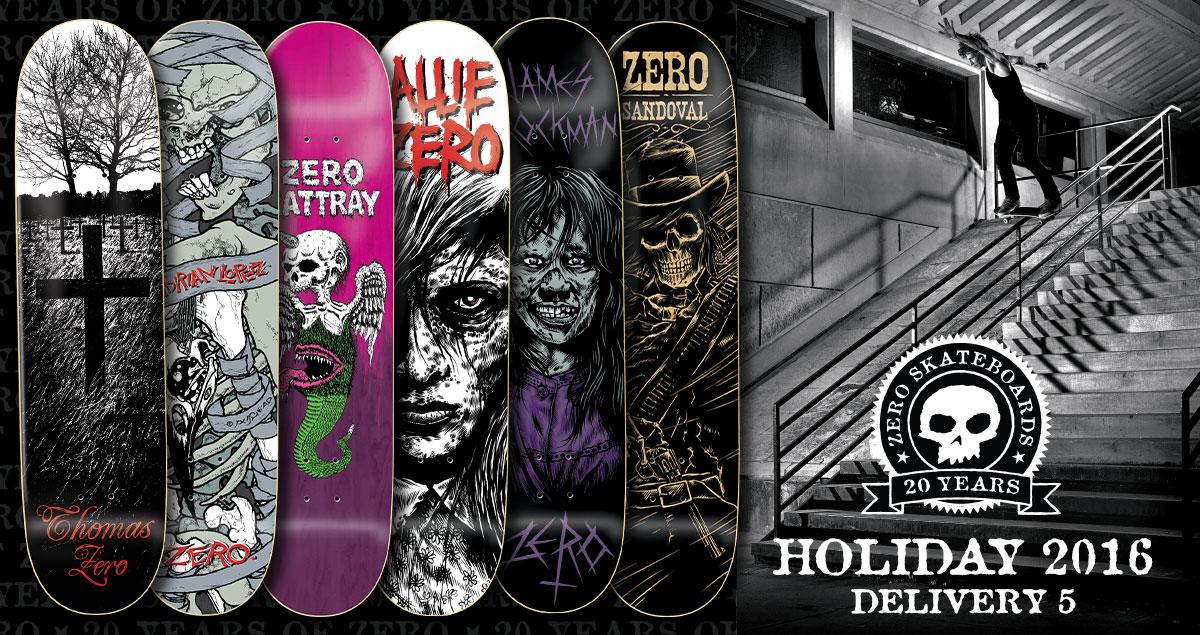 Zero Skateboards bei Urban Supplies