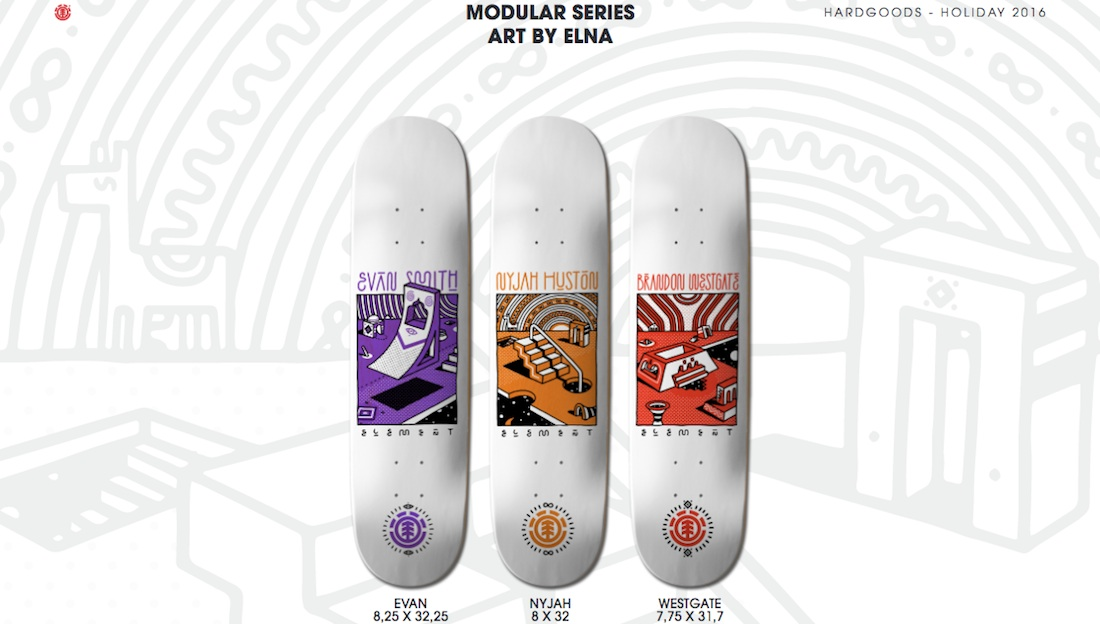 Element Skateboards Modular Serie