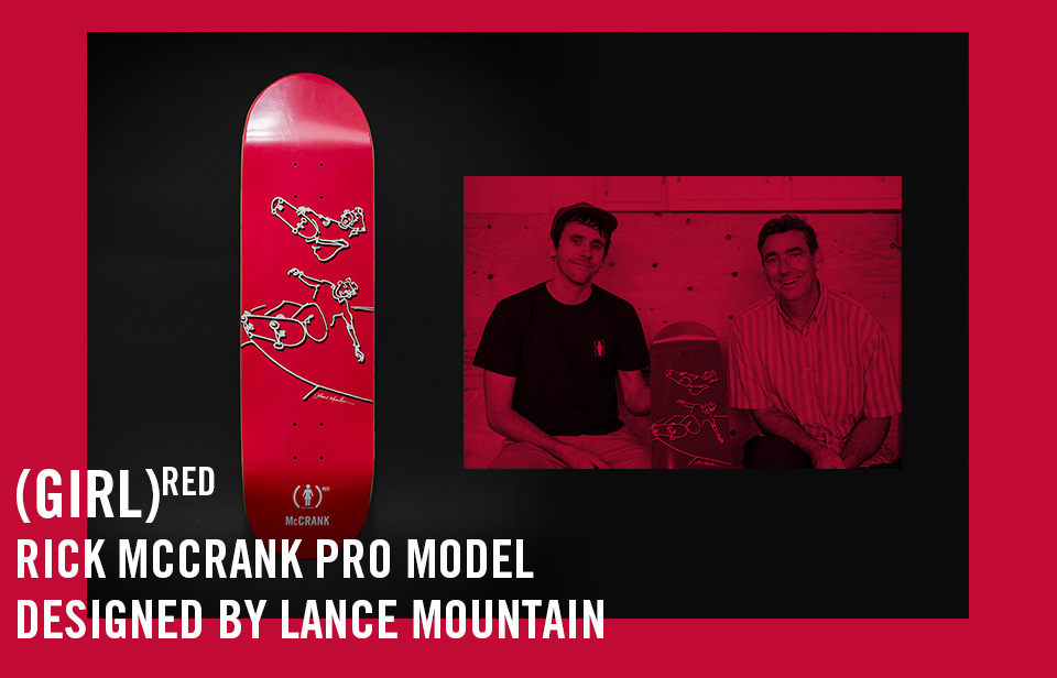 Girl RED Rick McCrank Promodel by Lance Mountain