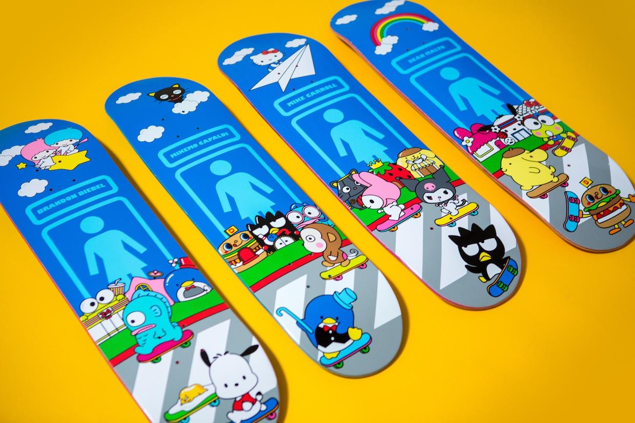 Girl Skateboards Sanrio