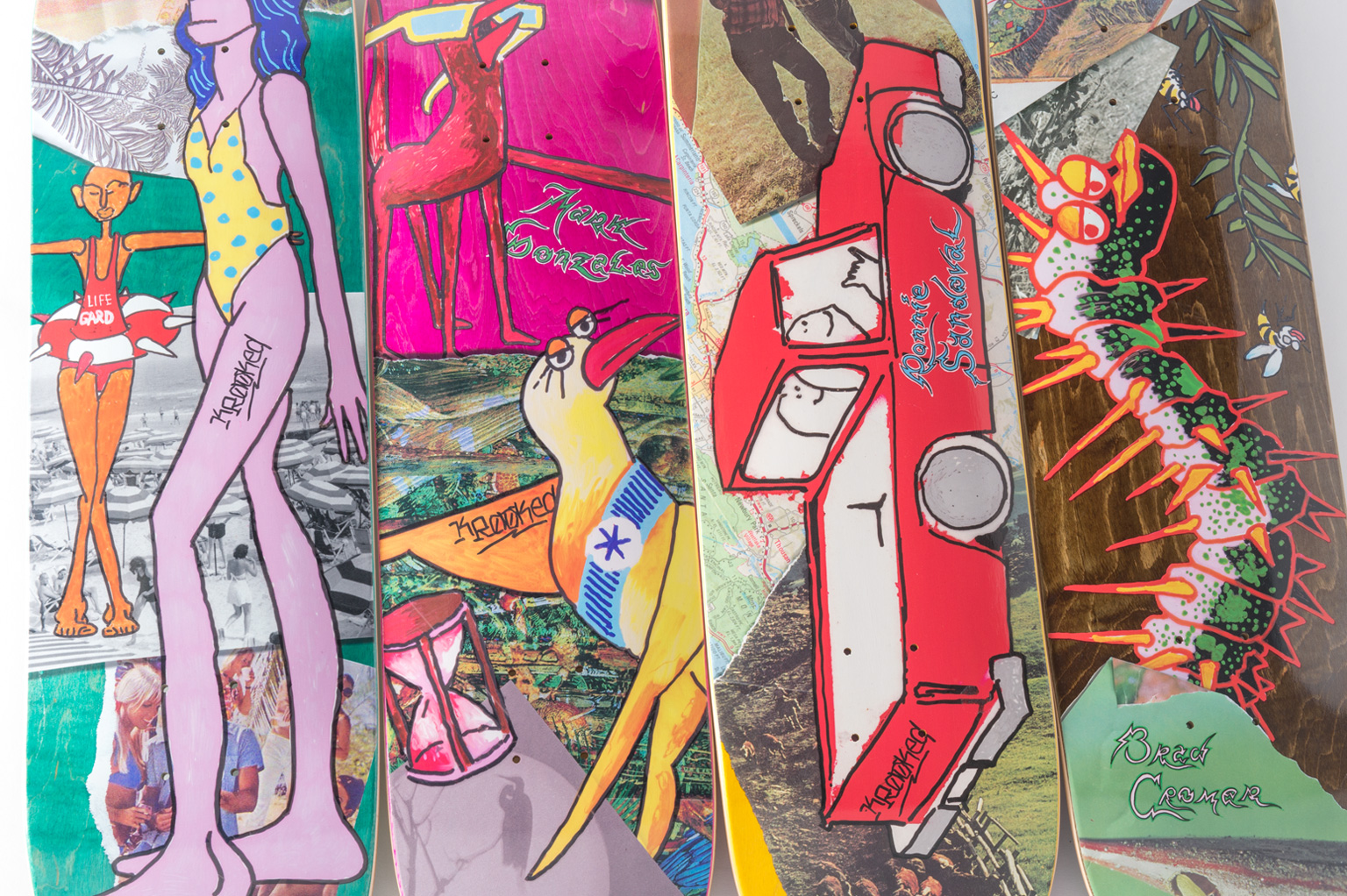 Krooked Skateboards Spring 17