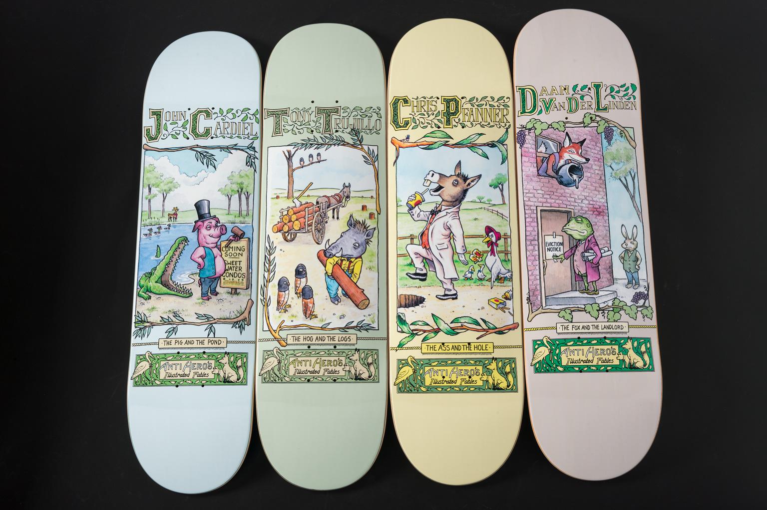ANTIHERO Skateboards Spring 17