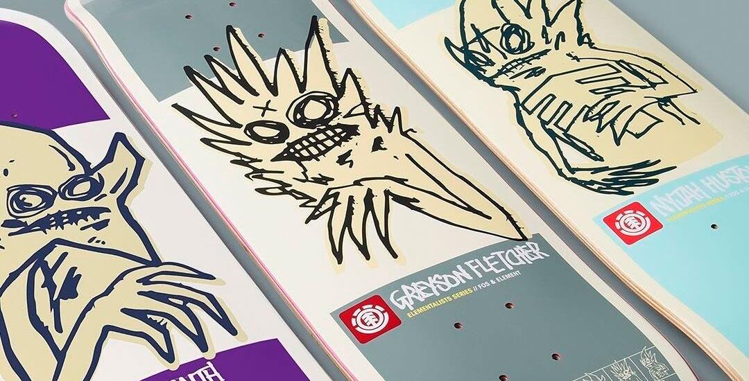 Element Skateboards FOS Serie