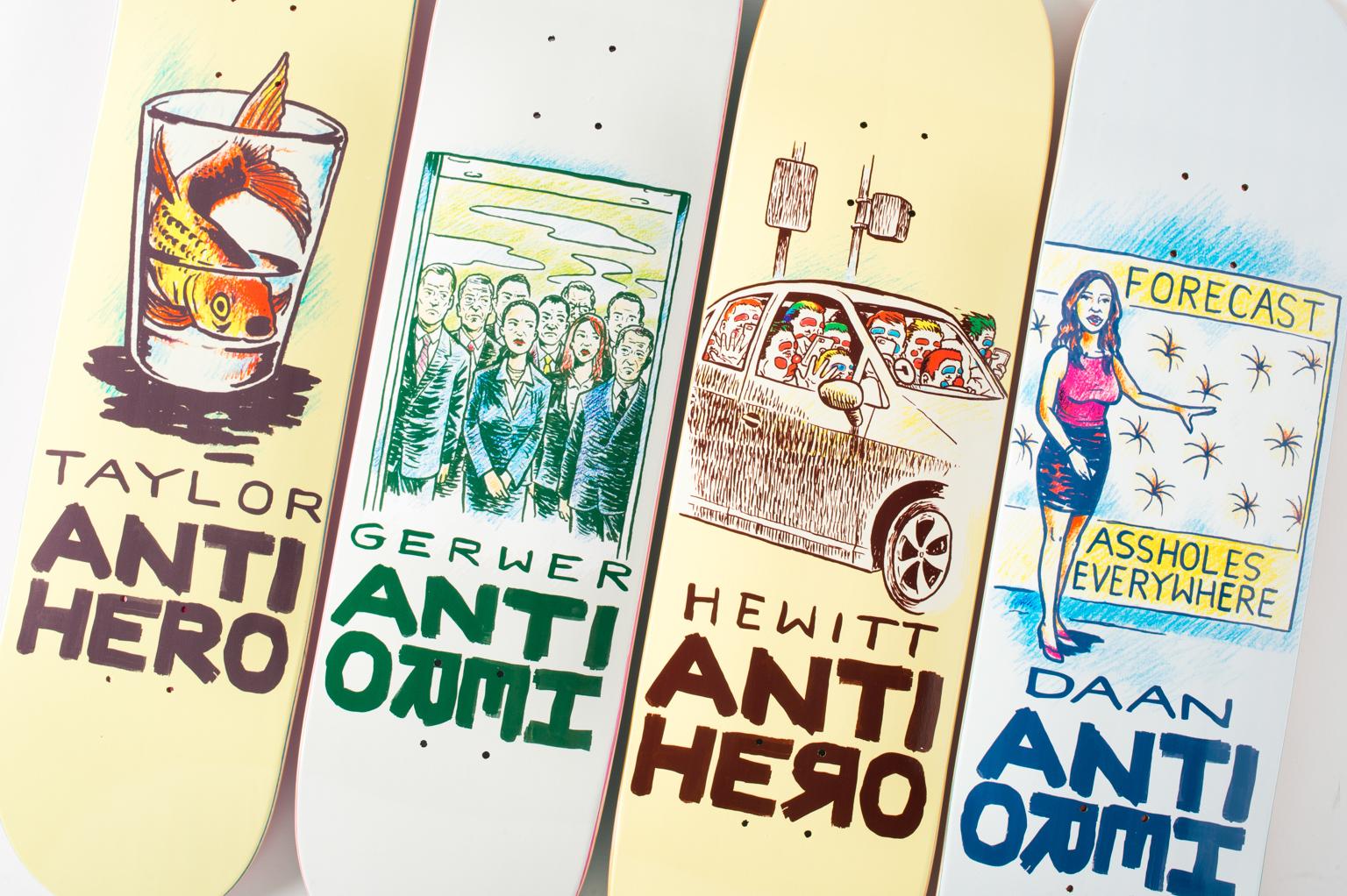 Antihero Skateboards Overcrowdingjpg