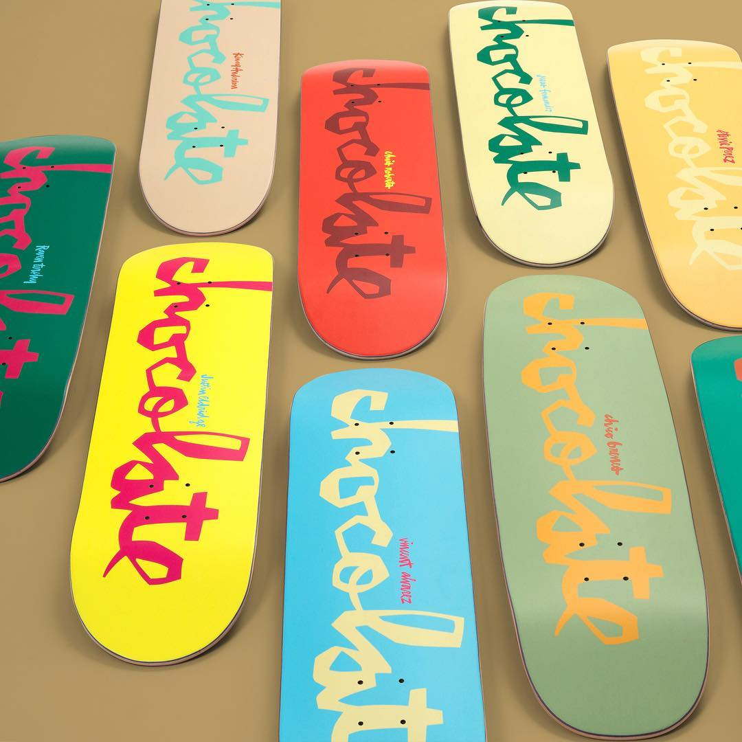 Chocolate Skateboard Chunk WR35