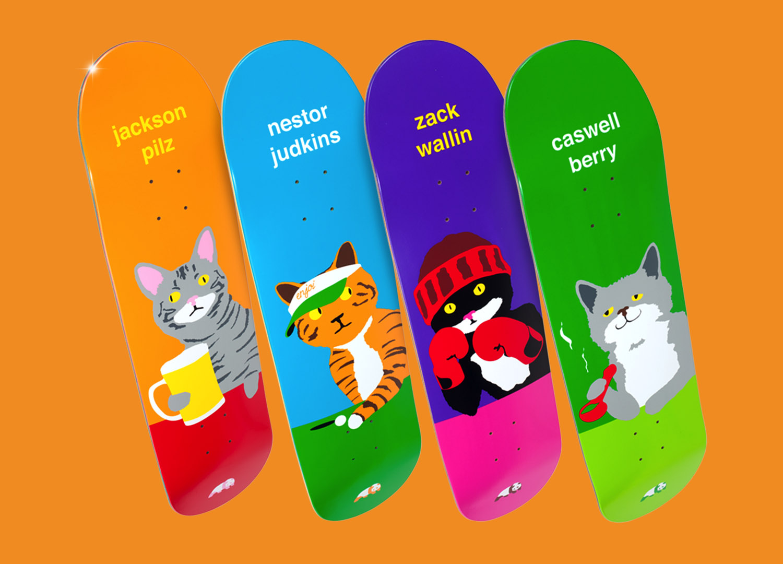 Enjoi Skateboards Pussy Magnet Series