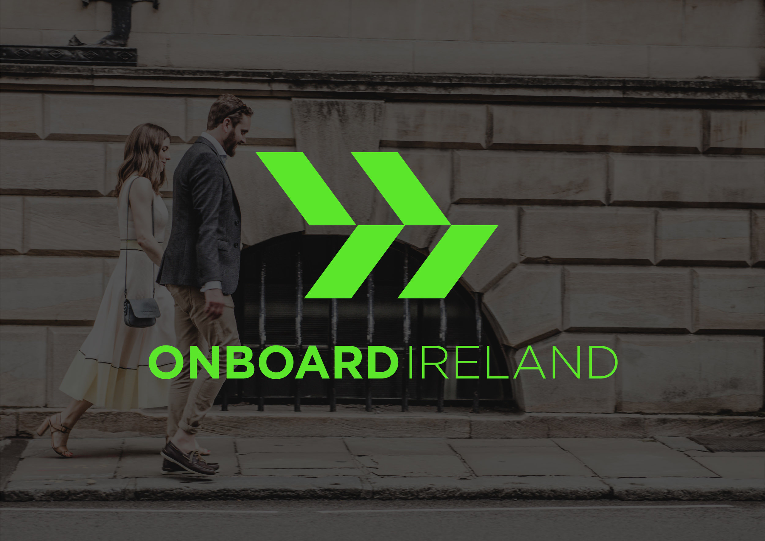 Onboard Ireland Logo and web design