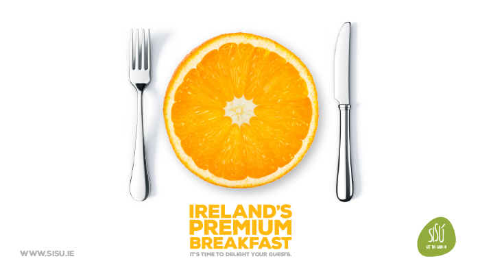Ireland's biggest cold pressed juice brand. On the shelves of key retailers, cafes & foodie outlets - delivered directly to your place of work. Get the good in. Asked LMPP Studio to create a unique campaign to highlight their premium cold pressed freshly squeezed orange juice.  Ideal for: - 4 and 5 star hotels - Catering and event companies - Premium restaurants and eateries