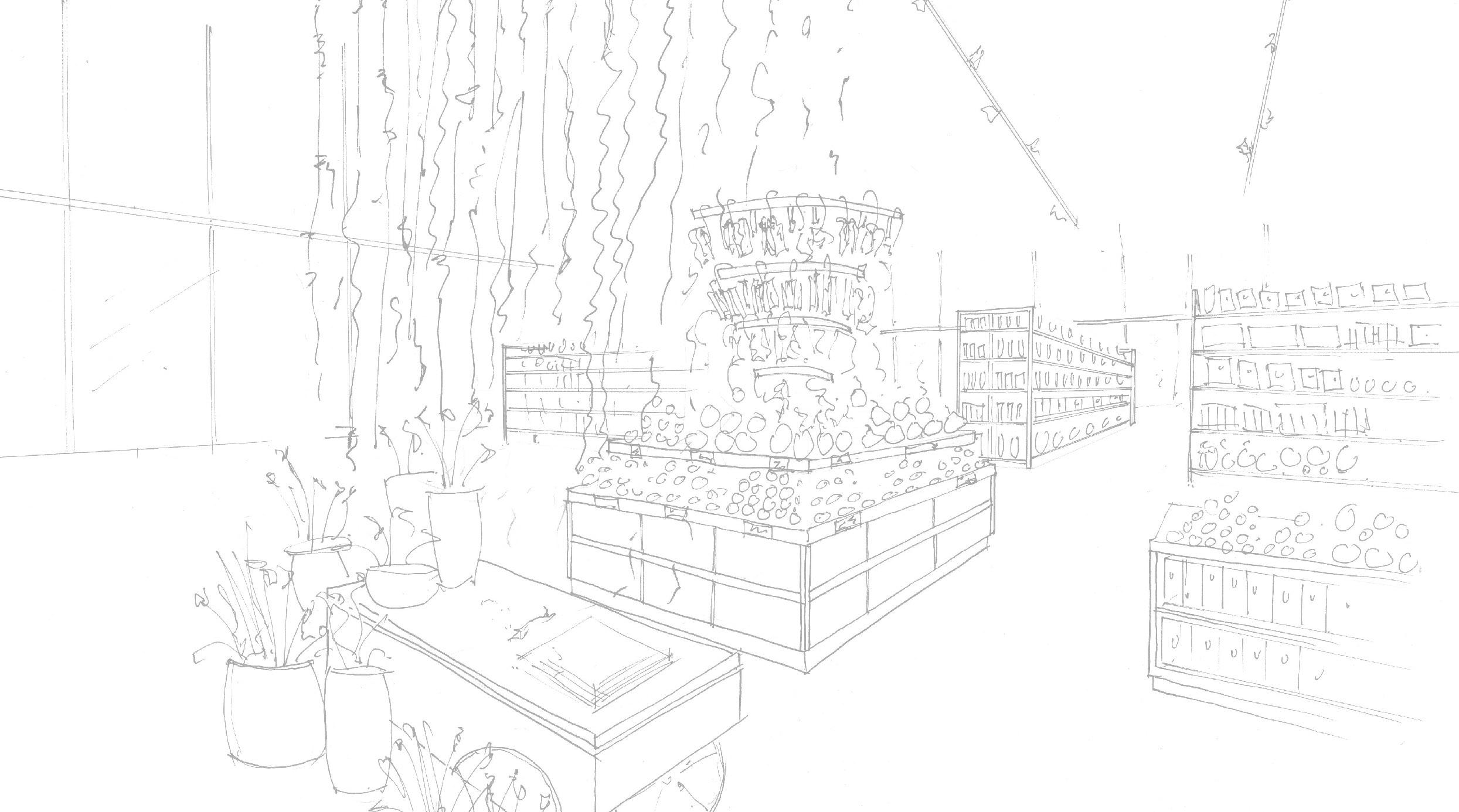 Convenient Store Sketch