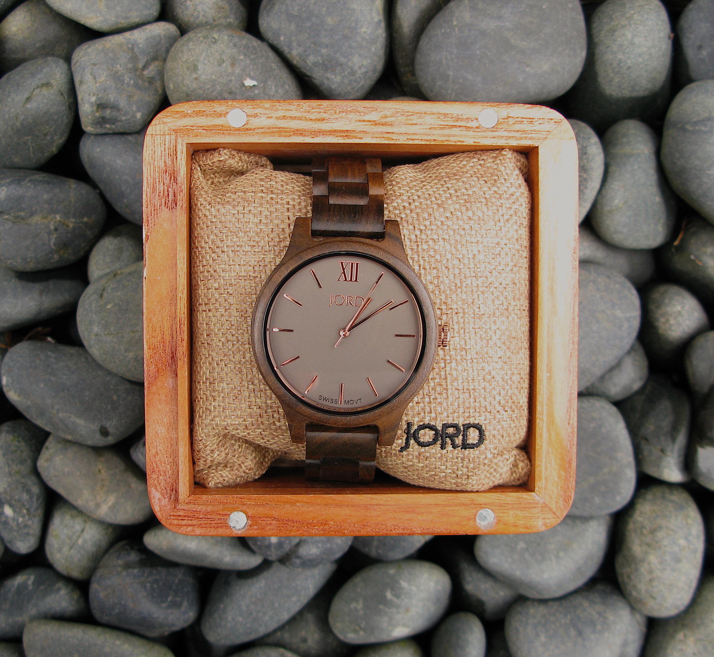 Wood men's watch