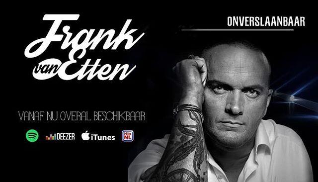 Het nieuwe album van @frankvanetten 'Onverslaanbaar' al beluisterd? Nu overal beschikbaar! 🎵 #frankvanetten #nieuwemuziek #album