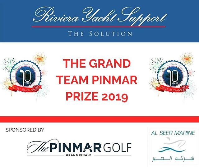 Last week to register for the 10th @rivierayachtsupport Golf Bonanza day which takes place Friday 4th October!  Great prizes on offer including a trip to #ThePinmarGolf thanks to #AlSeerMarine and #Pinmar.  We look forward to seeing everyone at the 19th-hole for Champagne and fine wine! 🍾 ⛳️ Register at www.rivierayachtsupport.com ⭐️This event is open to yachting industry companies and crew only ⭐️ #GolfBonanza2019 #RivieraWine #YachtLife #Yachting #Champagne #YachtWine #WineLover #Wine4Yachts #WineForYachts #Superyachts #YachtWorld #WineSupply #WineTasting #CotedazuFrance #Yachts #Instapic #MondayMotivation #FrenchRiviera #Yachts #LuxuryEvents