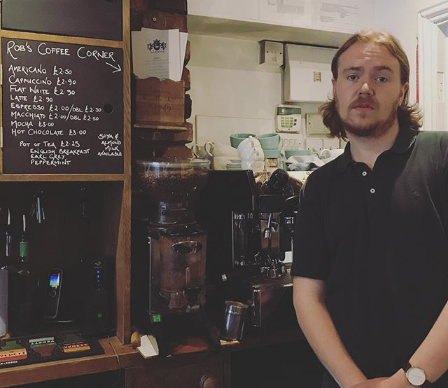 Have you been craving a distinctly average coffee made by a great guy? Lucky for you @robgodfrey has returned. Welcome to Rob's Coffee Corner!