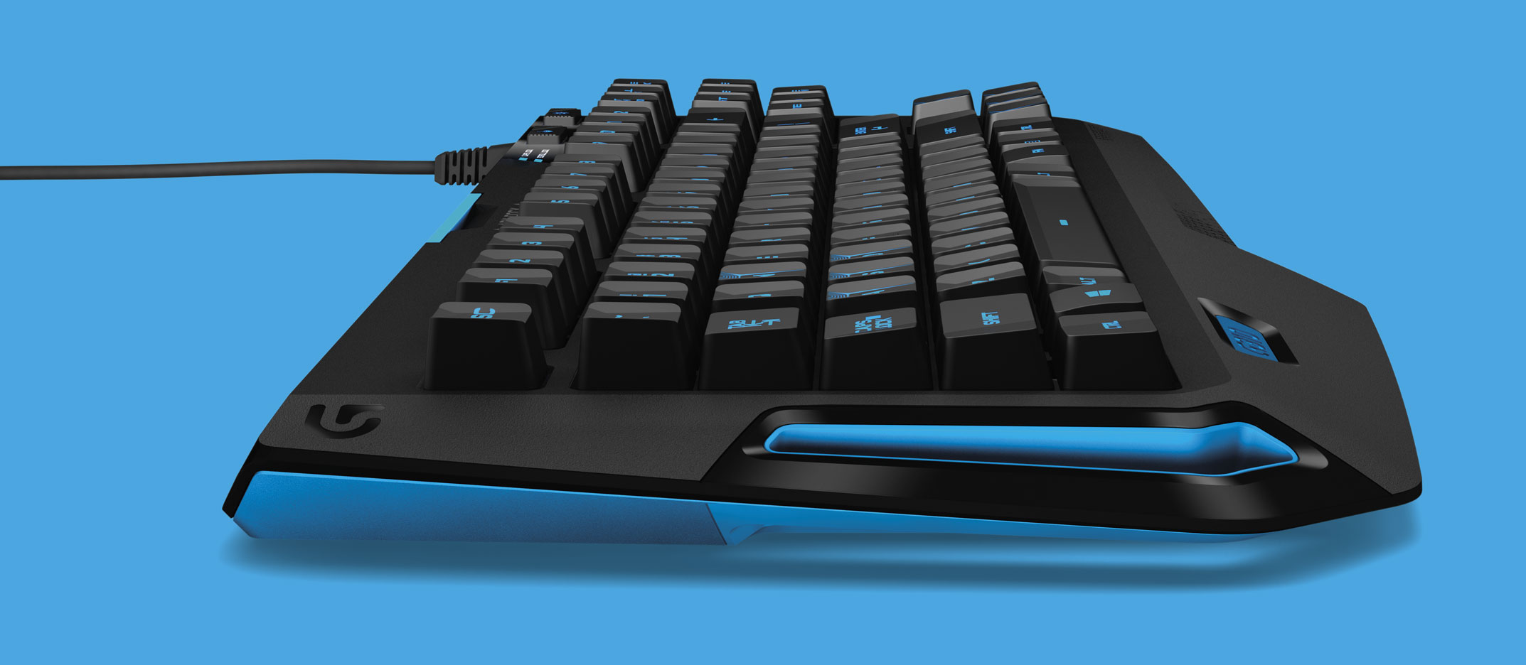 Logitech Keyboard Visualisation