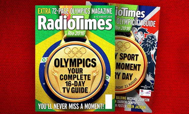 Radio Times Olympics Cover
