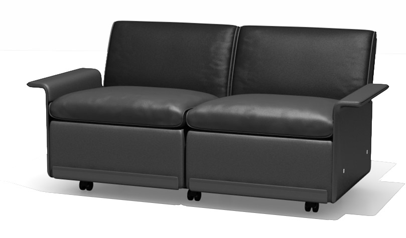 And the system's modular. You can make a sofa as long as you want.