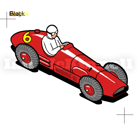 MacUser Ferrari bitmap Illustration