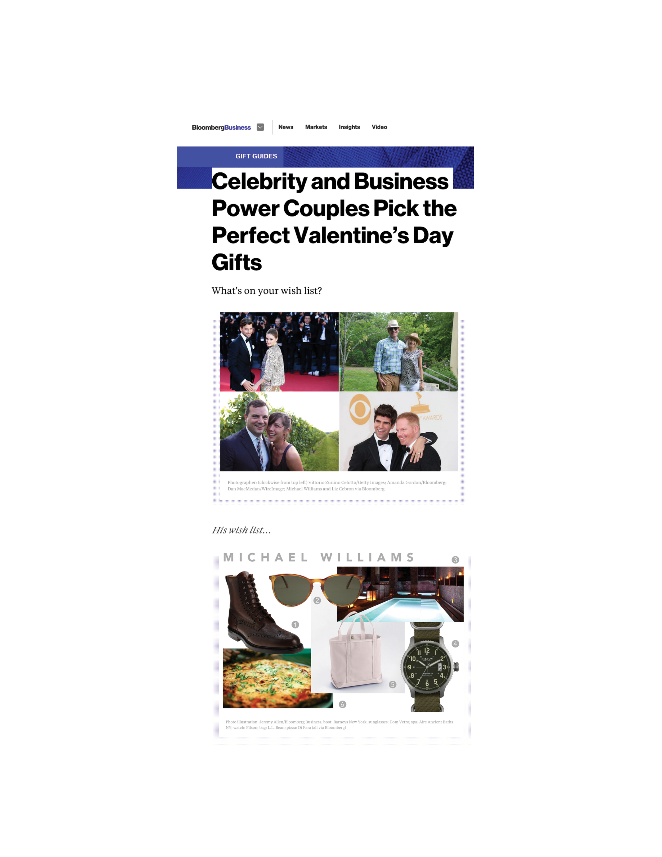 Bloomberg   Perfect Valentine's Day Gift