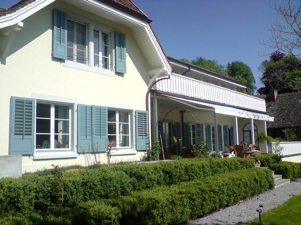 Saniertes Landhaus mit Anbau