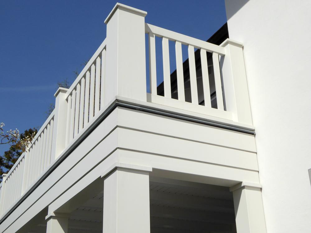 Detailansicht Balkon
