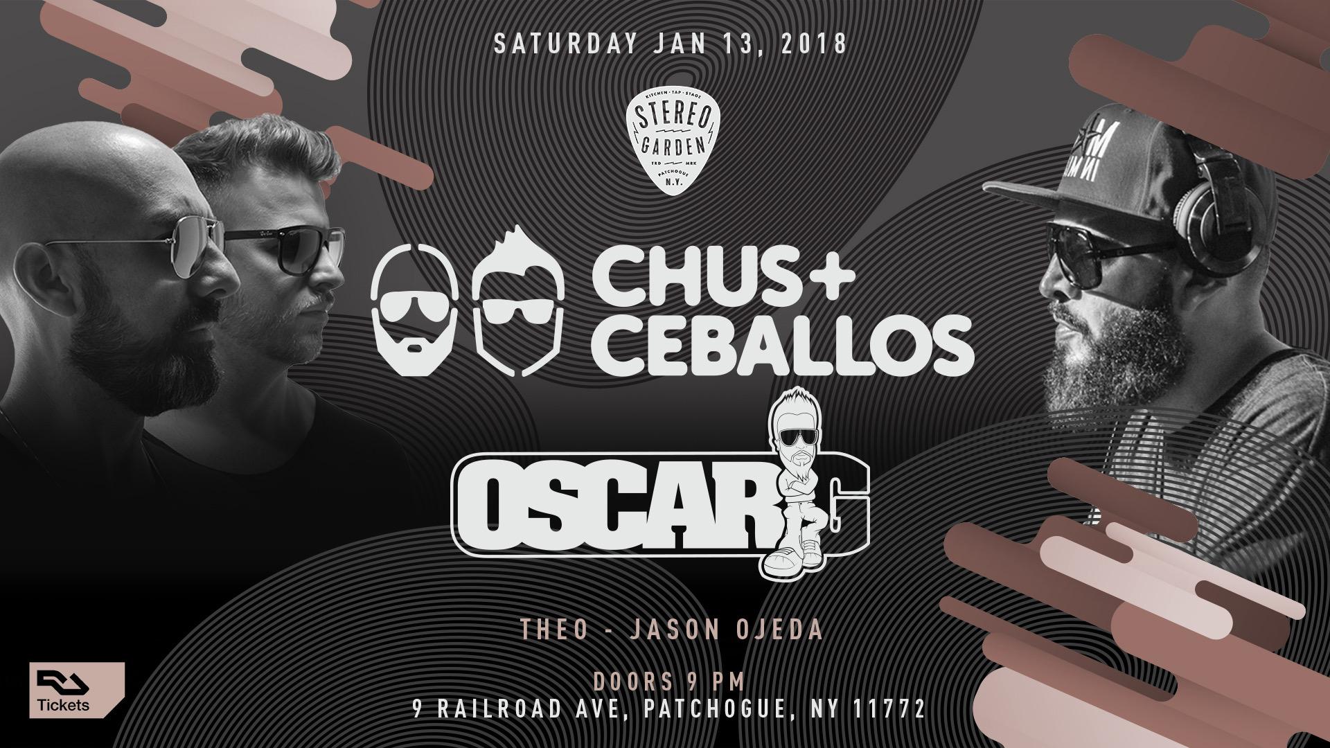 Chus+Ceballos Oscar G Benny Soto Mike Nervous Robbie Lumpkin Promotions