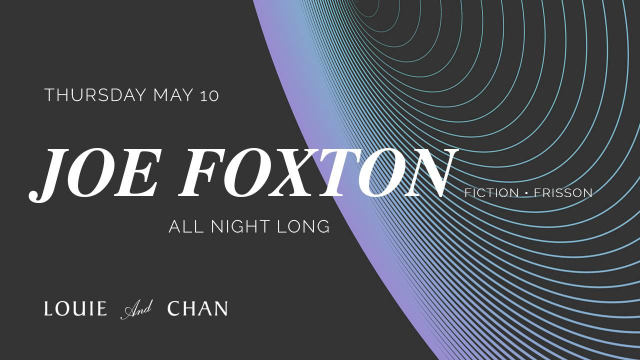 joe foxton louie and chan robbie lumpkin promotions