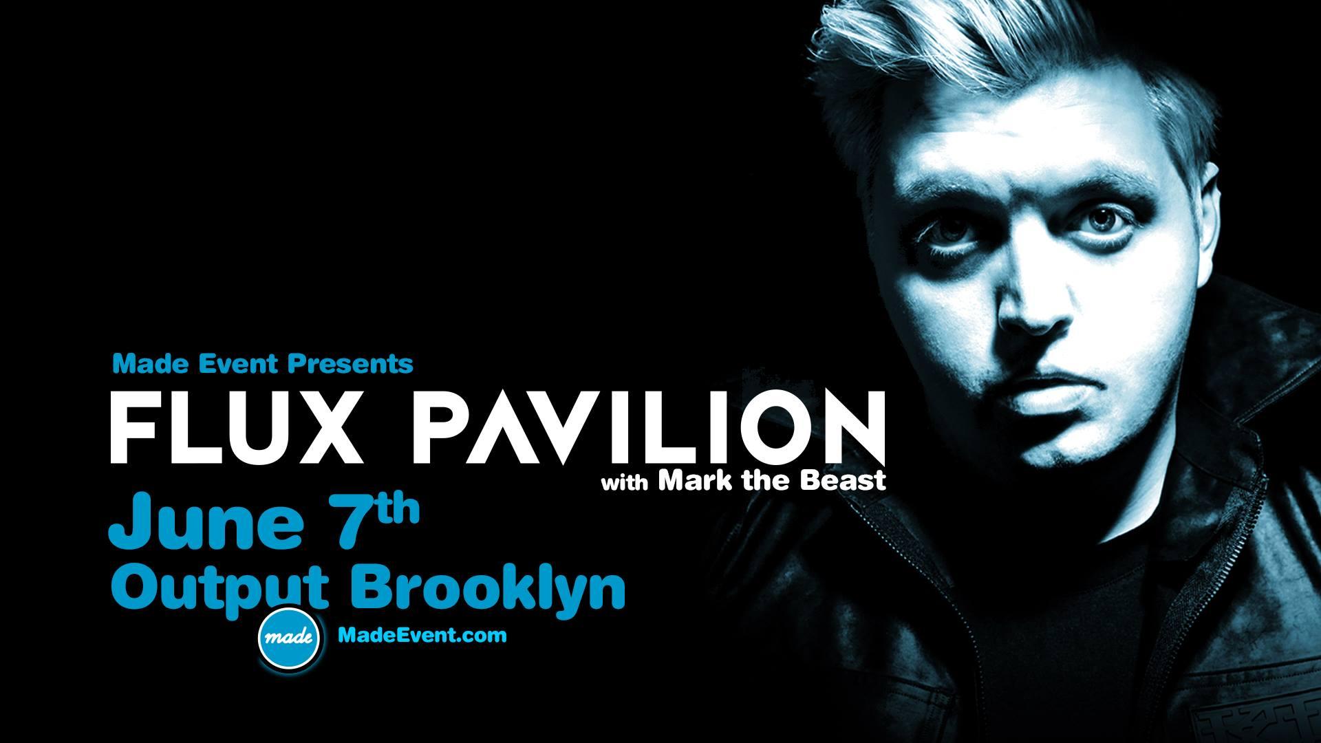 made events flux pavilion Output Club BK Robbie Lumpkin Promotions