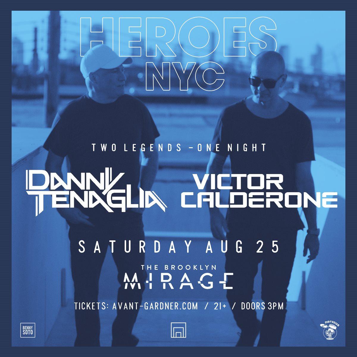 danny tenaglia victor calderone the brooklyn mirage robbie lumpkin promotions