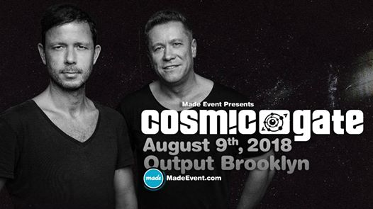 Made Events Cosmic Gate Output Club BK Robbie Lumpkin Promotions