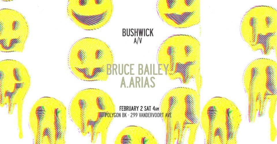 bruce bailey bushwick a/v winter garden polygon bk robbie lumpkin promotions