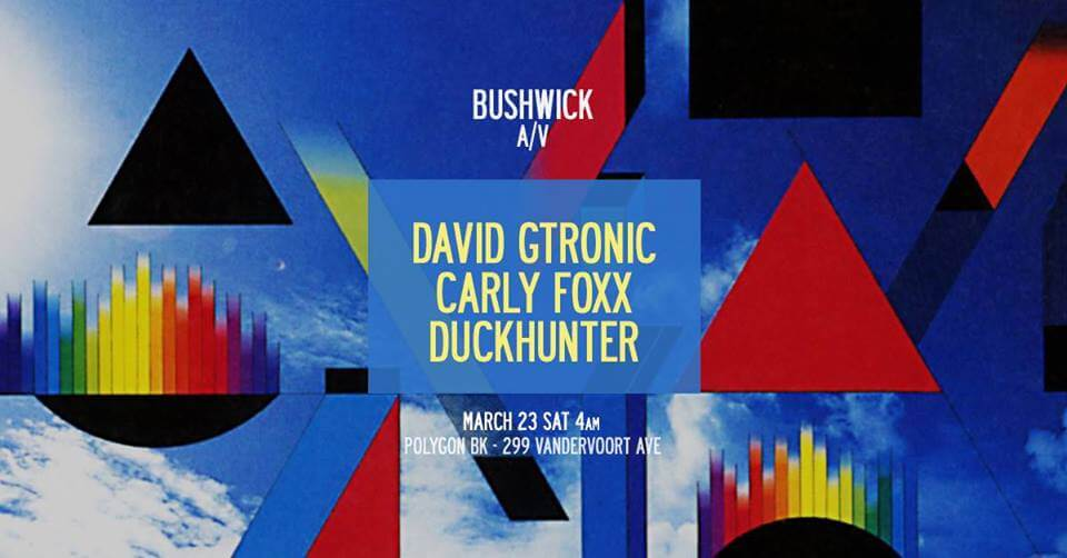 david gtronic bushwick a/v winter garden polygon bk robbie lumpkin promotions