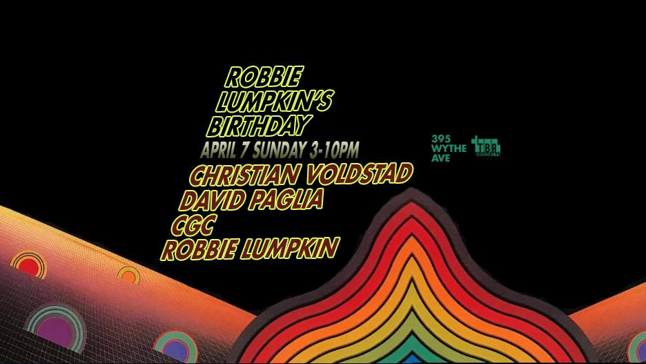 robbie lumpkin promotions birthday tba brooklyn