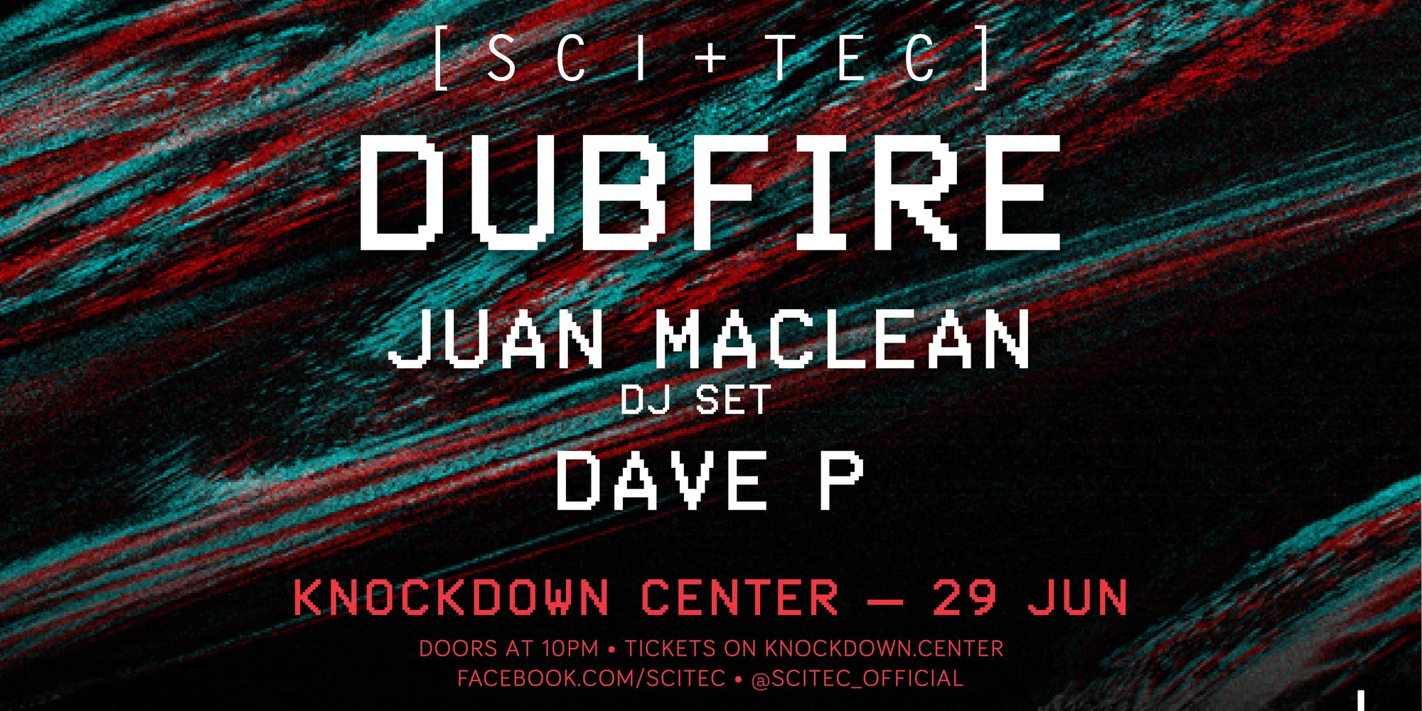 Knockdown Center dubfire  robbie lumpkin promotions