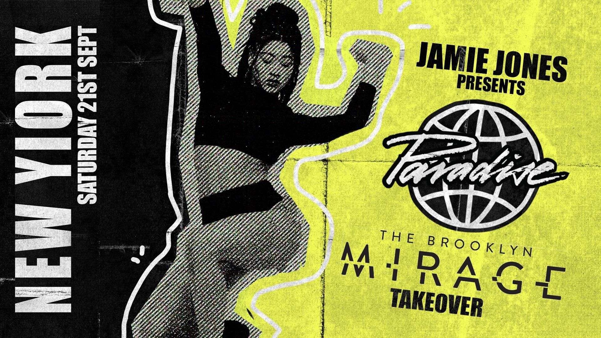 The brooklyn mirage avant gardner robbie lumpkin promotions paradise jamie jones