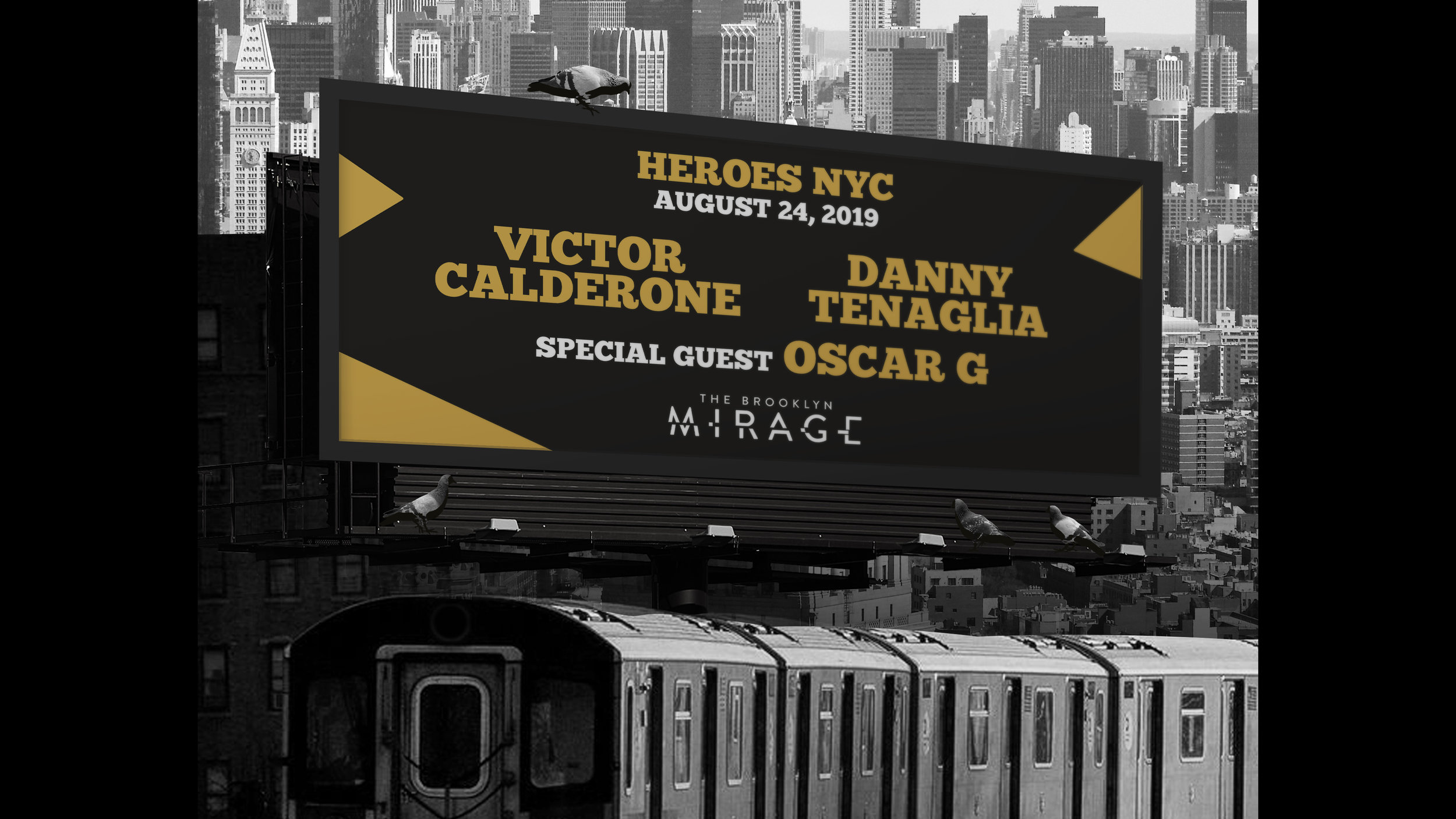 victor calderone danny tenaglia oscar g heros nyc the brooklyn mirage robbie lumpkin promotions