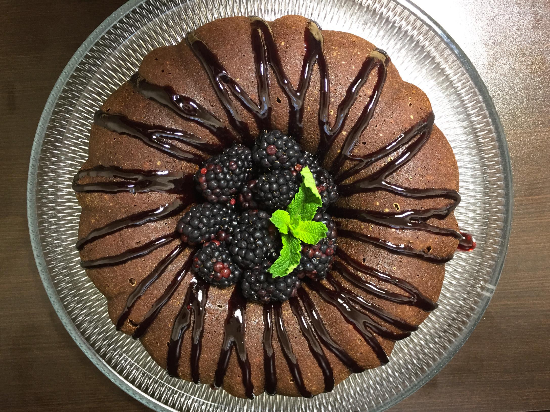 The Blacker the Berry Cake