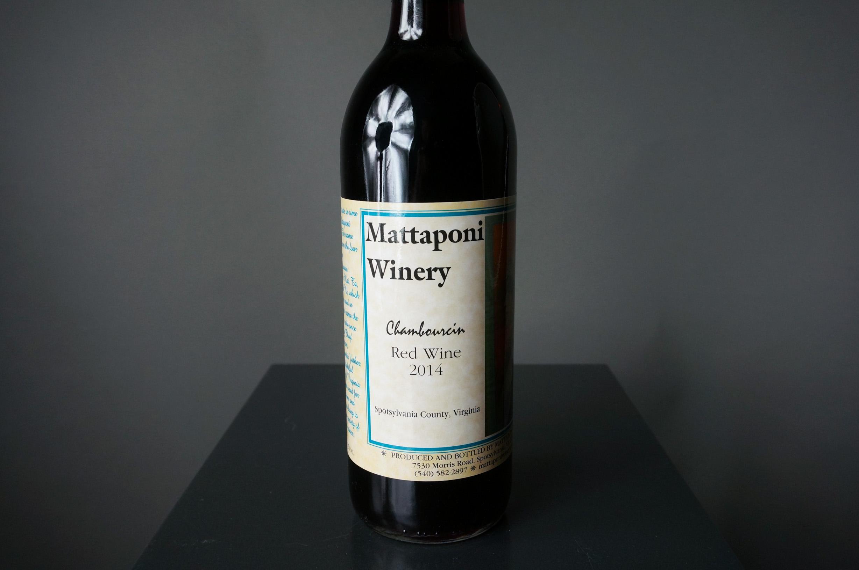 Chambourcin Red Wine