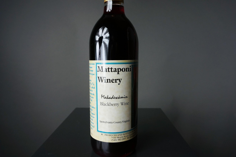 Makadewàmin Blackberry Wine