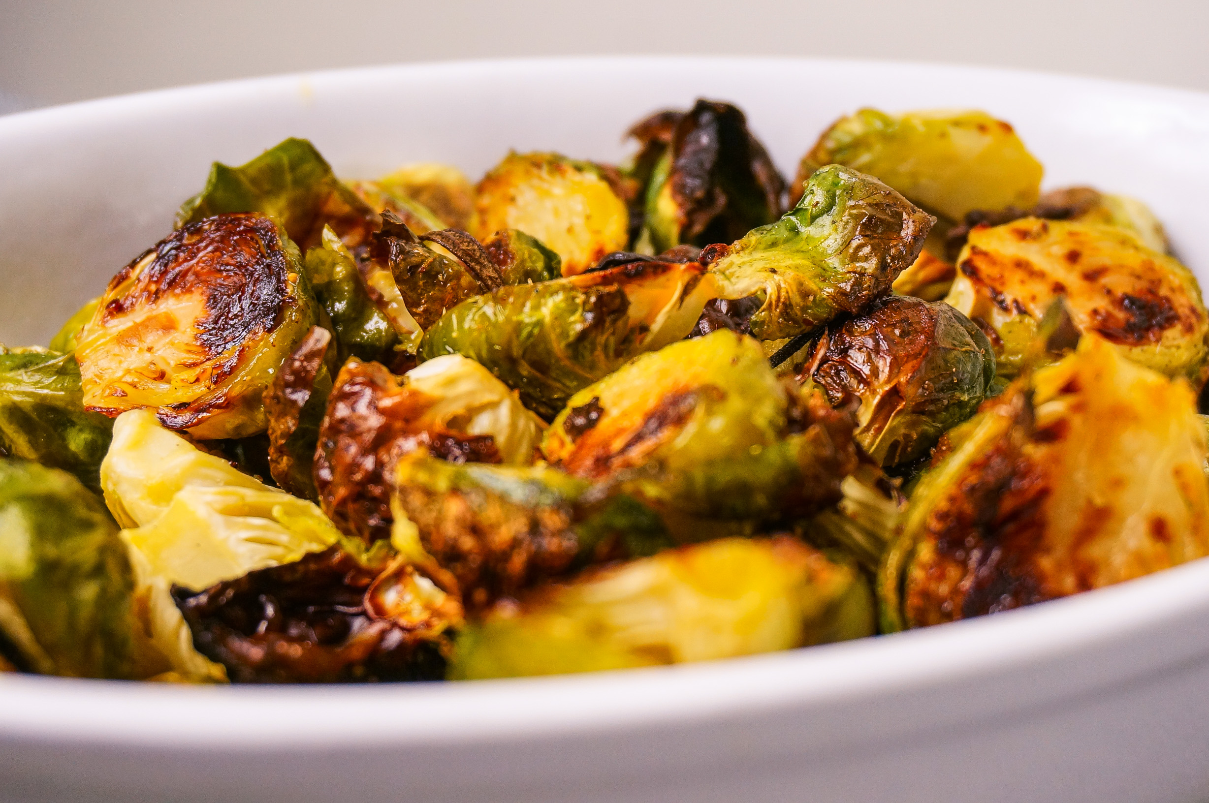 Brined brussels sprouts