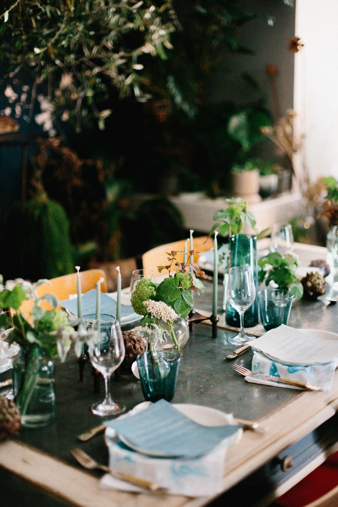 "- When Imogen Bailey, the director of event design studio Native Native, moved to the French Riviera last year, she was immediately struck by the sensory beauty of her newly adopted home—and instantly knew she wanted to share it with others. ""I was so inspired by the flowers and botanical diversity,"" she says. ""I wanted to bring to light the edible flowers, seasonal produce, and terroir of this region of France that have been forgotten over time.""Read more . . ."