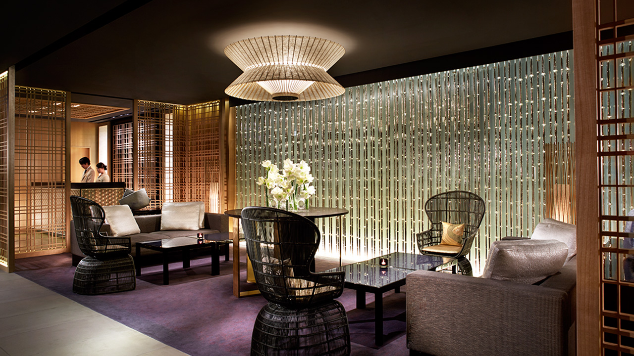 The Ritz-Carlton Kyoto's lobby lounge is not your typical morning coffee meet-up.