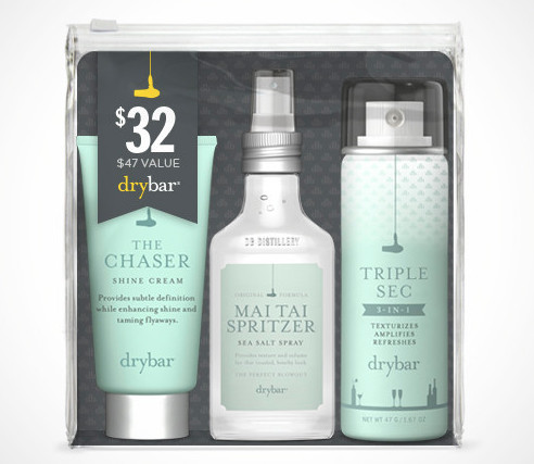 Drybar's triple threat against bad hair days.
